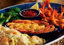 Seaside trio at Red Lobster. They even have the recipe on the website....it's pretty easy to make and delicious too.