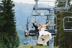 A Destination Wedding at Crested Butte Mountain Resort (image by Megan Alvarez).
