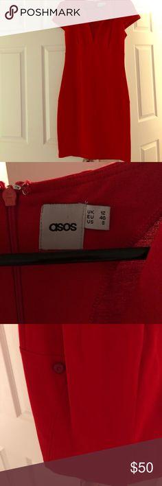 Red asos dress Sexy asos dress. Brand new but no tags, ASOS Dresses Midi