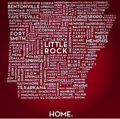 Arkansas girl forever. Love this!!!!
