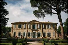 Chateau de la Mogere  | Image by Nicolas Chauveau, read more http://www.frenchweddingstyle.com/wedding-in-montpellier-france/