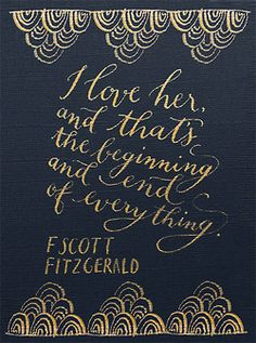 """""""I love her, and that's the beginning and end of everything."""" -F. Scott Fitzgerald   Navy on gold to celebrate my Art Deco styled shoot, featured on Grey Likes Weddings today! More about the shoot on my blog!"""