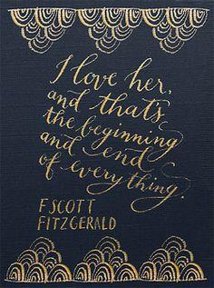 the boundaries of love and lust in the great gatsby by f scott fitzgerald - f scott fitzgerald's the great gatsby is a  fitzgerald portrays the themes of love, lust  boundaries in the novel, the great gatsby, f scott.