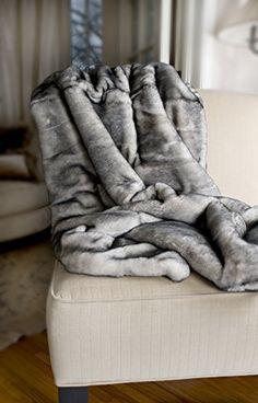 Adri Collection x Dusty Coal White Rex Rabbit Fur Pleated Throw Blanket Rex Rabbit, Rabbit Fur, Fur Rug, Fur Accessories, Fur Blanket, Fur Throw, Louis Vuitton Handbags, Warm, Blankets