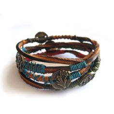 Wakami Leather Dream Wrap Bracelet (Guatemala) | Overstock.com Shopping - Great Deals on Bracelets