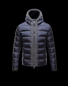 daunen winterjacken herren, jacken sale Moncler CANUT Herren Anorak Für Ihn Blau PA/Polyurethan 41311219CU online shop
