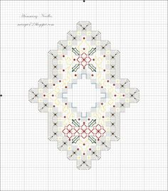 Hardanger Ornament Pattern no.4