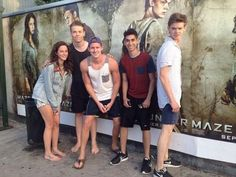 'Maze Runner' Cast 'Lost Our Minds' When They Saw Themselves On Posters: See The Pics - MTV