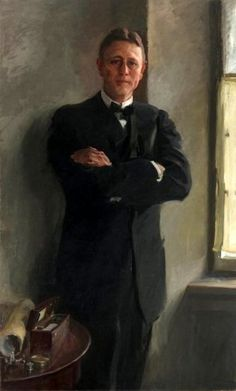 """Charles Wellford Leavitt"" -- by Cecilia Beaux (American, 1855 – 1942)"