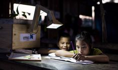 Innovative plant lamps draw energy from dirt and vegetation to light remote villages