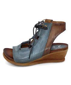 1f91241d74feab Love this Sky Satine Leather Sandal - Women on  zulily!  zulilyfinds Miz  Mooz