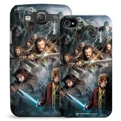 Our exclusive this phone case features a striking image of Bilbo Thorin Oakenshield and the dwarves from The Hobbit: An…