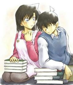 Shinichi and Ran (Detective Conan)