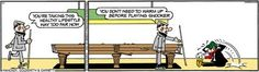 Andy capp playing pool