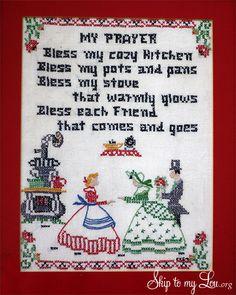 Kitchen Prayer--isn't it so sweet?
