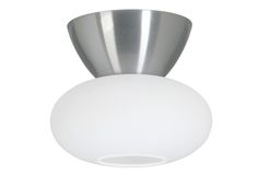 P2246 OPUS Flush ceiling light - Opus ceiling lamp with opal glas.Including light source, energy class D. Suited for ceiling hook. Approved for bathroom. Material Metal Incl. light source Yes Light source Integrated LED, Halogen Socket G9 Suited for ceiling hook Yes Approved for bathroom Yes Family Opus Watt max 60 W Diameter 150 mm Height 130 mm Class 21 IP.
