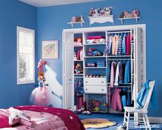 Custom closets for kids room, girls room closet inspiration. Get your dream closet at NOLA Closets. So much more than closets! Custom Closet Design, Bedroom Closet Design, Custom Closets, Closet Designs, Kids Bedroom, Bedroom Closets, Room Girls, Bedroom Ideas, Home Depot Closet
