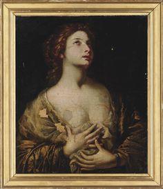 Bernardo Cavallino (a disciple of) - Magdalene.