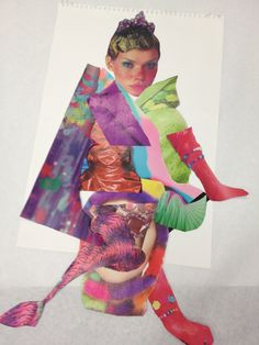 COLLAGES TO DISCOVER SHAPE