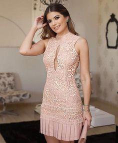 Vestido de festa curto  15 Modelos Lindos e Delicados 3be49a574d