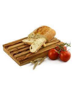 Brotschneidebrett aus Olivenholz 19 x 32 cm | treevoli