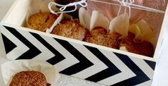 DIY Chevron Gift Box