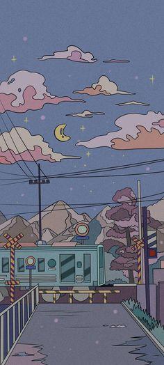 Pin by zelya nobemytha on Wallpapers (Set) in 2021 | Scenery wallpaper, Anime wallpaper iphone, Anime scenery wallpaper