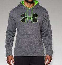 Men's UA Storm Armour® Fleece Big Logo Patterned Hoodie | Under Armour US