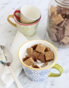 Shortbread Gluten-Free Cereal - Dry: 1 cup almond flour 1/3 cup coconut flour, sifted 1/3 cup protein powder 2 tablespoons psyllium husk powder  (flax meal MIGHT work instead) 3/4 teaspoon baking soda  Wet: 1/2 melted coconut oil 2 tablespoons water 2 tablespoons honey