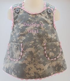 pink army camo dress change to airforce camo. Then it would be perfect idea for the future