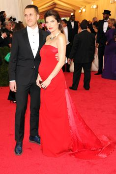 The 20 Most Stylish Couples at the 2014 Met Gala: Lake Bell and Scott Campbell