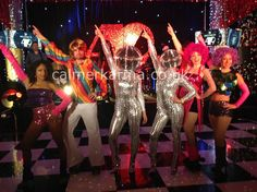 Disco and themed entertainment to hire including roller skating disco dancers, podium dancers, Car Wash Bands and disco ball headed divas. Disco Roller Skating, Disco 70s, 70s Party, London Clubs, Studio 54, Belly Dancers, Wedding Reception, Skate, Parties