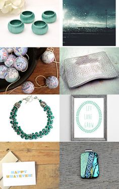 Fresh Turquoise Gifts by Laura Prill on Etsy--Pinned with TreasuryPin.com