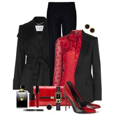 """Two Tone Shoes"" by simona-risi on Polyvore"