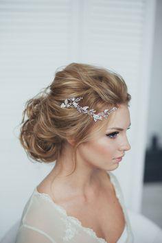 Wedding Hair - Messy Updo