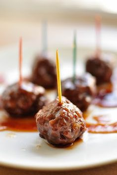 Sweet n Sour Meatballs - Appetizers - Recipe Index