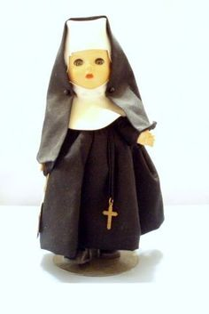 1950's Ginny nun doll by Madame Alexander  I find this kind of creepy now.