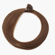 Straight Nail Human Remy Hair Extensions #6 Light Brown  #nailtiphairextension Pre Bonded Hair Extensions, Fusion Hair Extensions, Human Hair Extensions, Remy Human Hair, Nail Tips, Brown, Hair Extensions, Brown Colors