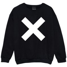 Cross Sweater Jumper Womens Ladies Fun Tumblr Hipster Swag Fashion... ($22) ❤ liked on Polyvore featuring tops, hoodies, sweatshirts, sweaters, shirts, black, women's clothing, cross shirt, black star shirt and sweat shirts
