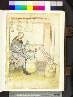 Mendel Housebook, Amb. 317.2° Folio 42 recto, c 1425, Nuremberg (Nürnberg)
