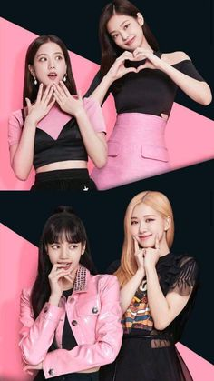 Kpop Girl Groups, Korean Girl Groups, Kpop Girls, Korean Girl Fashion, Blackpink Fashion, Blackpink Video, Foto E Video, Yg Entertainment, Blackpink Poster