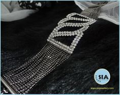Check out this stunning bracelet only on www.siajewellery.com. Add the glitters to your look with SIA- THE PARTY COLLECTION. @Sia Art Jewellery