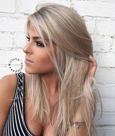 Medium Ash Blonde Hair Color