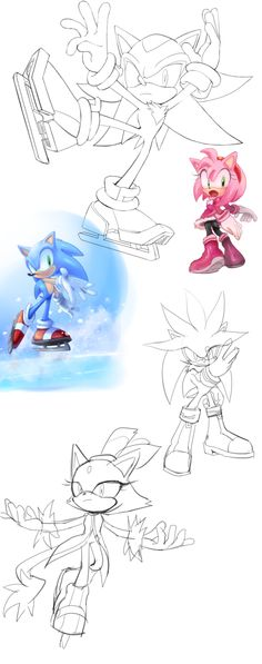 ^U^ Awwwwwwwwwwwwwwwwwwwwwwwwwwwww Sonic The Hedgehog, Hedgehog Art, Silver The Hedgehog, Shadow The Hedgehog, Sonic Franchise, Sonic And Amy, Sonic And Shadow, Sonic Fan Art, Miraclous Ladybug