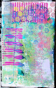 Balzer Designs Gelli print. ?.