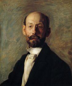 """""""Portrait of Frank B. A. Linton"""" Thomas Cowperthwait Eakins"""