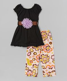 Look at this Tutus by Tutu AND Lulu Black Tunic