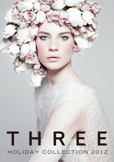 THREE 2012 HOLIDAY COLLECTION Beauty Ad, Beauty Makeup, Hair Makeup, Ad Fashion, Fashion Design, Cosmetic Design, Girls Magazine, Fashion Photography Inspiration, Makeup Brands