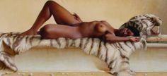 Pintura y Fotografía Artística : Retratos Femeninos Pintura Artística