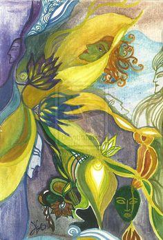Draperia maszkok by Narbelethwererabbit.deviantart.com
